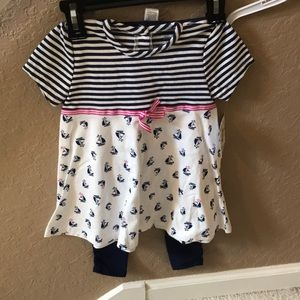 Girls little Me outfit size 4t new with tags